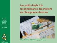 Les outils d'aide à la reconnaissance des stations en ... - GIP-Ecofor
