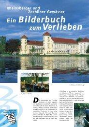 Ein Bilderbuch zum Verlieben - Reiseland  Brandenburg