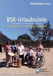 BSK-Urlaubsziele - Bundesverband Selbsthilfe Körperbehinderter e.V.
