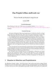 Das Projekt LiMux stellt sich vor