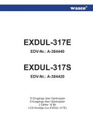 EXDUL-317E EDV-Nr.: A-384440 - Messcomp Datentechnik GmbH