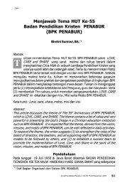Hal.81-91 Menjawab Tema HUT Ke-55 Badan ... - BPK Penabur