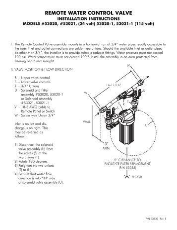 3200et control valve remote meter timer performance. Black Bedroom Furniture Sets. Home Design Ideas