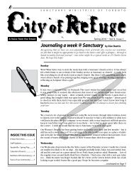 Journaling a week @ Sanctuary by Alan Beattie