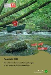 Angebote 2008 Die schönsten Touren und Veranstaltungen in ...