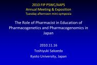 The Role of Pharmacist in Education of