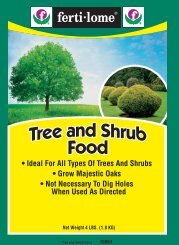 Label 10864 Tree Shrub Food Approved 09-21-11 - Fertilome