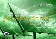 Inovatívny čin roka 2009 - Slovenská inovačná a energetická agentúra