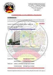 Hotel Celuisma Florida Norte - Federación Española A. de Jiu Jitsu ...