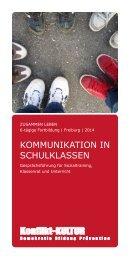 KOMMUNIKATION IN SCHULKLASSEN - AGJ Freiburg