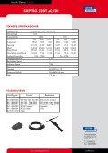 SXP TIG 220T AC DC Salgsblad.pdf - Sveiseeksperten - Page 2