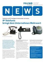 IP-Telefonie bringt dem Unternehmen Mehrwert - Telcom AG