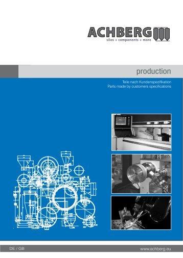 2013-04-06 production - Siloanlagen Achberg GmbH