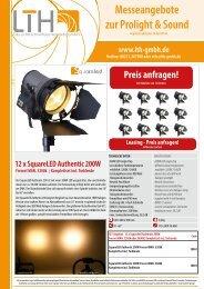 Messeangebote zur Prolight & Sound im PDF Format - LTH-GmbH