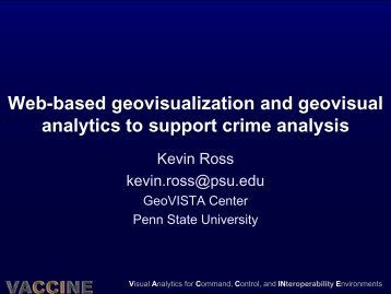 Slides - GeoVISTA Center - Penn State University