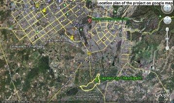 Location Plan(Google Map) - NTPC Housing