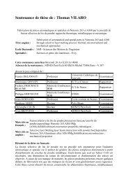 Resume de these_Thomas Vilaro - MINES ParisTech