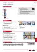Uszczelniacze i pianki montażowe - fischer - Page 7
