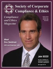 How effective is your hotline? - Society of Corporate Compliance ...