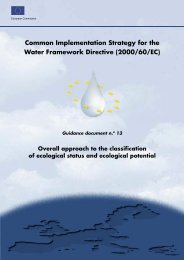 Common Implementation Strategy for the Water Framework Directive