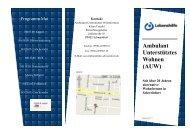 Flyer AUW Ausdruck - Lebenshilfe Schweinfurt