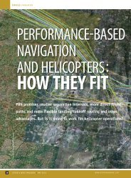 PERFORMANCE BASED NAVIGATION AND HELICOPTERS : - ABAG