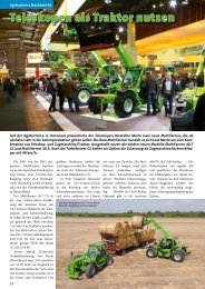 Teleskopen als Traktor nutzen - Merlo Deutschland