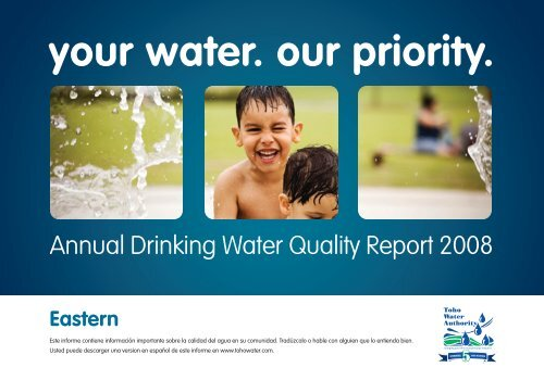 Quality Report 2008 - Eastern - Toho Water Authority
