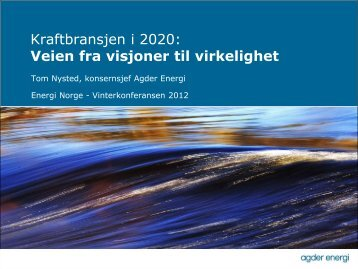 Energiselskapet 2020 - Energi Norge