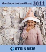 Aktualisierte Umwelterklärung 2011 - Steinbeis