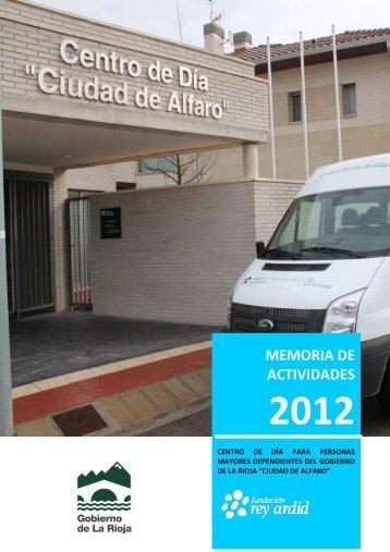 MEMORIA DE ACTIVIDADES - Fundación Rey Ardid