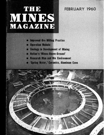 THE MAGAZIN - Mines Magazine - Colorado School of Mines