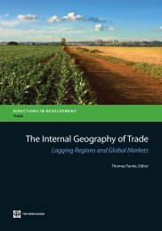 The Internal Geography of Trade - The South African LED Network