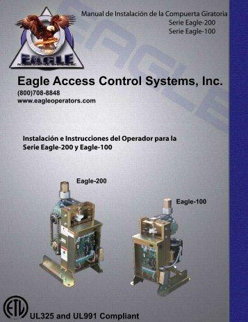 Manual de Instalación de la Compuerta Giratoria Serie Eagle-200 ...