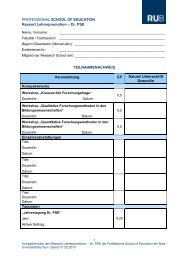 Teilnahme-Bestätigung von Dr. PSE-Veranstaltungen - Professional ...