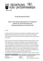 2007 - Regierung von Unterfranken - Bayern