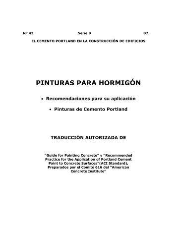 PINTURAS PARA HORMIGÓN - ICPA