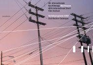 051 KUFI Tournee 2002/03 - Internationale Kurzfilmtage Oberhausen