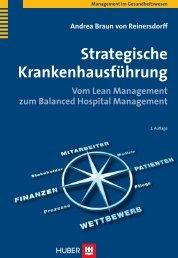 Andrea Braun von Reinersdorff Strategische Krankenhausführung ...