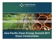 Asia Pacific Clean Energy Summit 2011 Asia Pacific Clean Energy ...