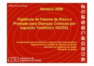 Vigilância de Fatores de Risco e Proteção para Doenças ... - Epi2008