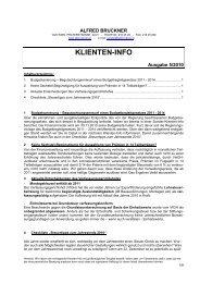 Klienten Information 5/2010 - Alfred Bruckner