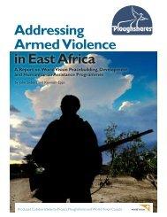 Addressing Armed Violence in East Africa.pdf - World Vision Institut