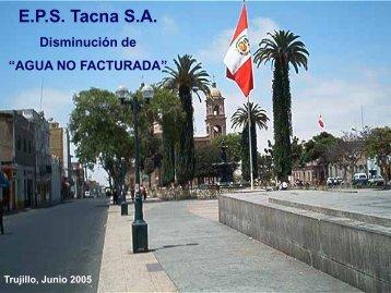 Exposición en Proyecto Tacna