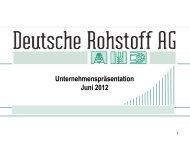 Deutsche Rohstoff AG - GOLDINVEST.de