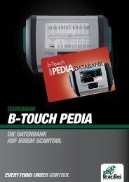 b-touch pedia datenbank - Brain Bee