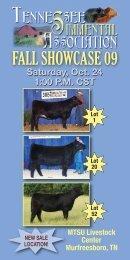 FALL SHOWCASE 09 - Breeding Cattle Page