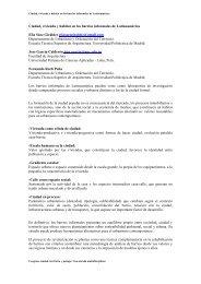 """SAEZ et al """"Ciudad, vivienda y hábitat en los barrios informales de ..."""