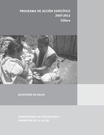 Cólera - Centro Panamericano de Ingeniería Sanitaria y Ciencias ...