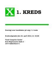 Oversigt over kandidater på valg i 1. kreds Kredsvalgmøde den 24 ...